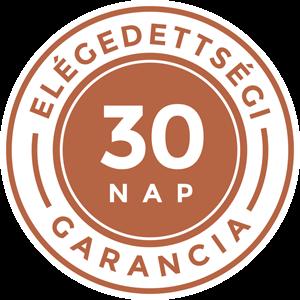 30 nap megelégedettségi garancia
